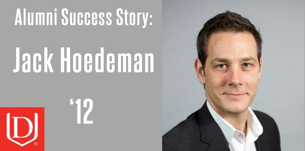 Jack Hoedeman, Alumni Success Story
