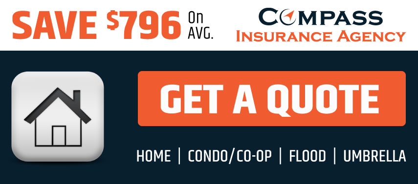 Get a Home Quote from Compass Insurance Agency & Save $796